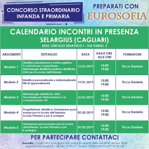 500x500 concorso calendario SELARGIUS 1